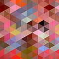 Pattern Of Triangle by Mark Ashkenazi