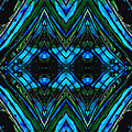 Patterned Art Prints - Cool Change - By Sharon Cummings by Sharon Cummings