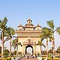 Patuxai Gate - Vientiane - Laos by Matteo Colombo