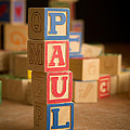 Paul - Alphabet Blocks by Edward Fielding