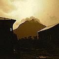 Paul Cezanne Homage Golden Gate Peak Old Tucson 1967-2009 by David Lee Guss