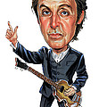 Paul Mccartney by Art