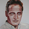 Paul Newman by Richard Garnham