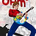 Paul Weller Wham by Neil Finnemore