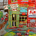 Paul's Grocery Montreal by Michael Litvack