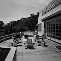 Paved Terrace At The Residence Of Mr. And Mrs by Clyde H. Sunderland