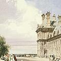 Pavilion De Flore, Tuileries, Paris by Thomas Shotter Boys