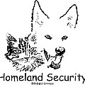 Paws4critters Homeland Security by Robyn Stacey