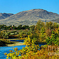 Payette River And Squaw Butte by Robert Bales
