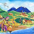 Paysage Du Nord Du Rwanda by Emmanuel Baliyanga