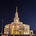 Payson Utah Temple by David Hancock