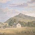 Haymaking At Dolwyddelan by Paul Sandby