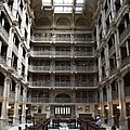 Peabody Library Baltimore by Christiane Schulze Art And Photography