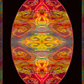 Peace And Harmony Abstract Healing Art by Omaste Witkowski