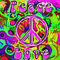 Peace And Love by Peggy Gabrielson