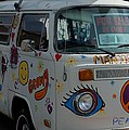 Peace And Love Van by Dany Lison
