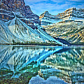 Peace At Bow Lake by Tara Turner