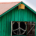 Peace Barn by Bill Gallagher