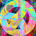 Peace Love And Rock And Roll Return To The Summer Of Love 20140605 V2 by Wingsdomain Art and Photography