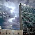Peace On Earth - United Nations by Miriam Danar