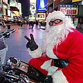 Peace Santa by Ed Weidman