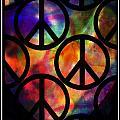 Peace Series Viii by Wendie Busig-Kohn