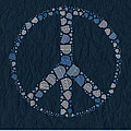 Peace Symbol Design - Bld01t01   by Variance Collections