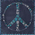 Peace Symbol Design - Btq19at2 by Variance Collections