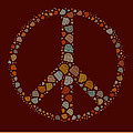 Peace Symbol Design - S05d by Variance Collections