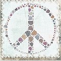 Peace Symbol Design - S76at02 by Variance Collections