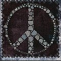 Peace Symbol Design - S79bt2 by Variance Collections