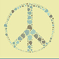 Peace Symbol Design - Y87d by Variance Collections