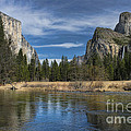 Peaceful Afternoon In Yosemite by Sandra Bronstein