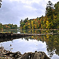 Peaceful Autumn Lake by Christina Rollo