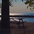 Peaceful Beach by Bill  Kolodzieski