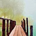Peaceful Foggy Day by Liane Wright