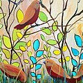 Peaceful Gathering  by Ruth Palmer