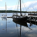 Peaceful Harbor Scene - Ct by Christiane Schulze Art And Photography