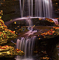 Peaceful Little Falls by Paul W Faust -  Impressions of Light