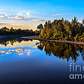Peaceful Payette River by Robert Bales