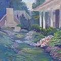 Peaceful Portico by Judy Fischer Walton