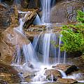Peaceful Waterfall by Jordan Blackstone