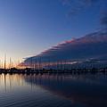 Peaceful Yachts And Sailboats by Georgia Mizuleva