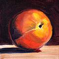 Peach 1 by Nancy Merkle