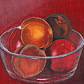 Peaches And Nectarines by Vera Lysenko