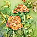 Autumn Roses by Kathryn Duncan