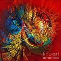 Peacock 3 by Marek Lutek