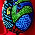 Peacock Egg II  by John  Nolan