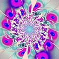 Peacock Flower by Anastasiya Malakhova