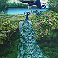 Peacock Garden by JQ Licensing